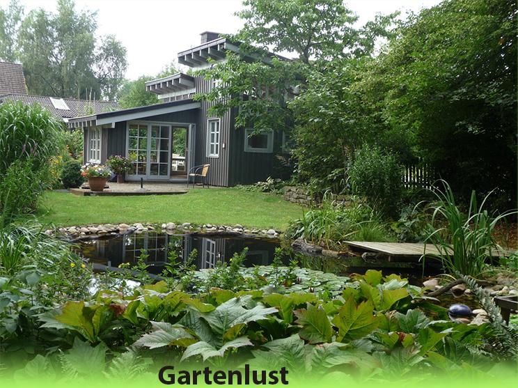 Westerwald Ferienhaus mit großem Garten und einen Teich